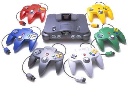 Nintendo64-collors